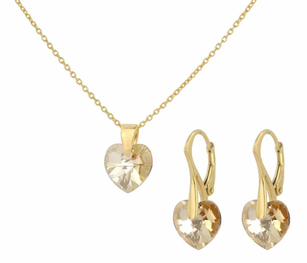 CND Jewellery Necklace and Earrings Set