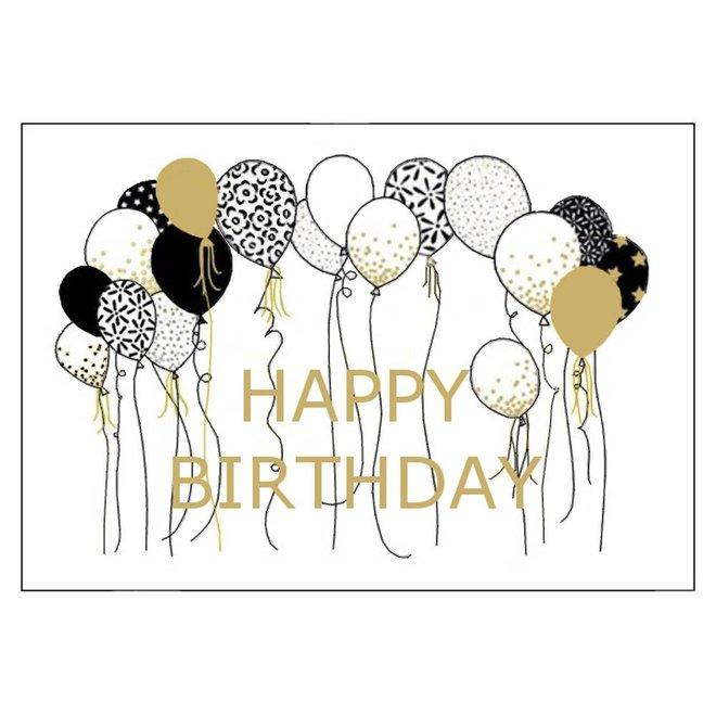 Greeting card - happy birthday - ARLIZI 01