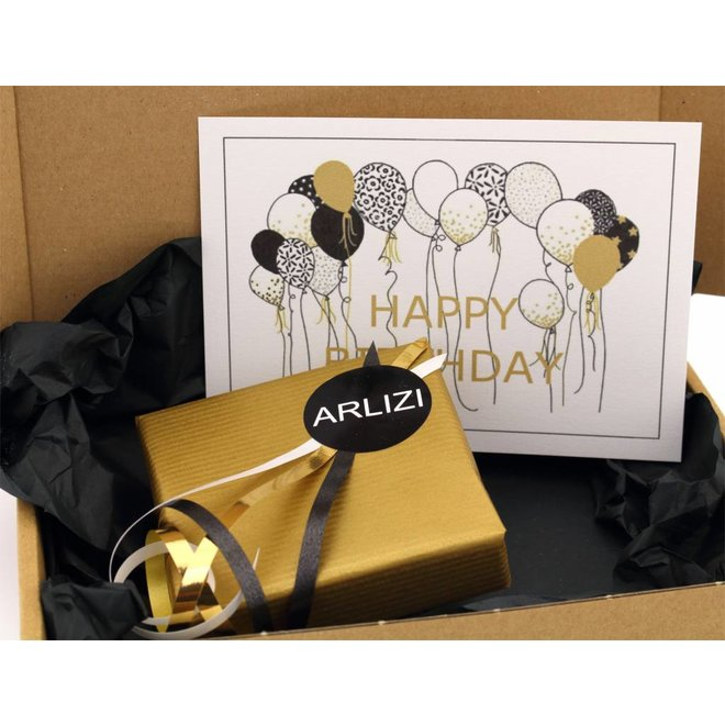 Greeting card - hearts - love - ARLIZI 12