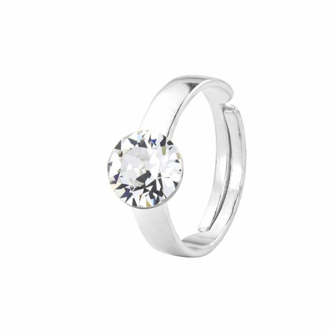 Ring transparent Swarovski Kristall - Sterling Silber - ARLIZI 1291 - Lucy