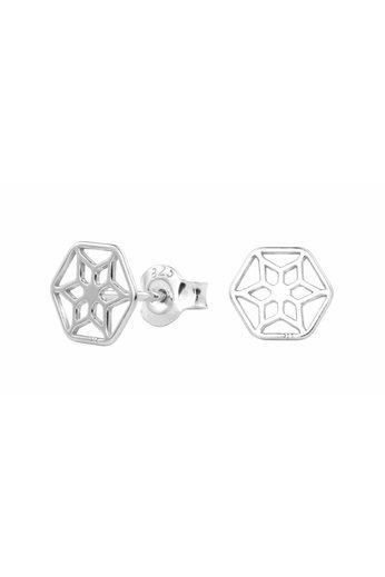 Oorbellen filigree oorstekers - sterling zilver - ARLIZI 1389 - Zoe