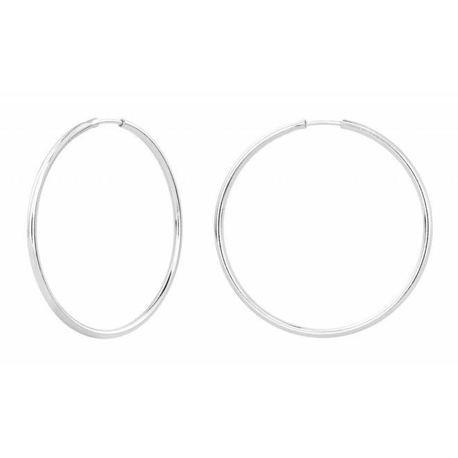 Earrings hoops - sterling silver - ARLIZI 1551 - Natalia
