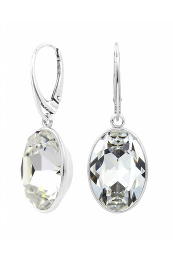 Ohrringe Swarovski Kristall Anhänger - Sterling Silber - ARLIZI 1656 - Claudia