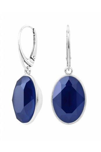 Earrings Swarovski crystal pendant - sterling silver - ARLIZI 1662 - Claudia