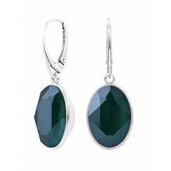 Earrings Swarovski crystal sterling silver - 1661