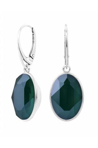 Ohrringe Swarovski Kristall Anhänger - Sterling Silber - ARLIZI 1661 - Claudia