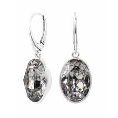Ohrringe Swarovski Kristall Sterling Silber - 1657