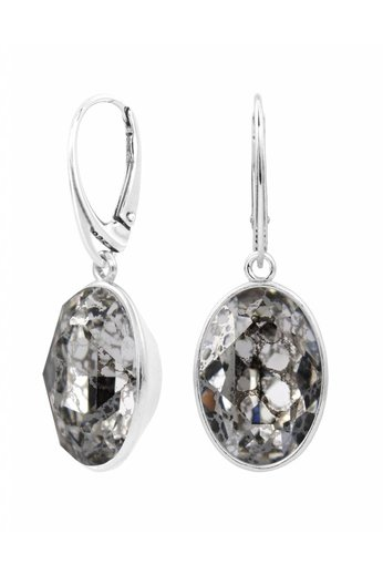 Oorbellen Swarovski kristal hanger - sterling zilver - ARLIZI 1657 - Claudia