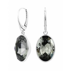 Earrings Swarovski crystal sterling silver - 1660