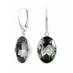 Ohrringe Swarovski Kristall Sterling Silber - 1660