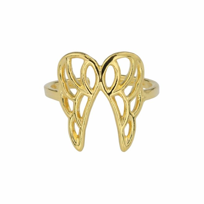 Ring wing sterling silver gold plated - ARLIZI 1681 - Kendal
