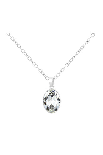 Ketting Swarovski kristal hanger - 925 sterling zilver - ARLIZI 1688 - Claudia