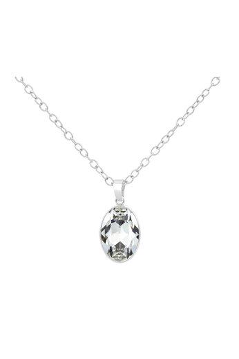Necklace Swarovski crystal pendant - 925 sterling silver - ARLIZI 1688 - Claudia