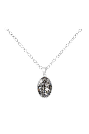 Ketting Swarovski kristal hanger - 925 sterling zilver - ARLIZI 1689 - Claudia