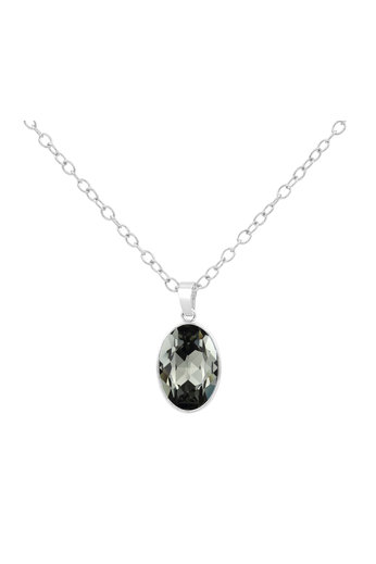 Halskette Swarovski Kristall Anhänger - 925 Sterling Silber - ARLIZI 1692 - Claudia