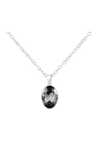 Necklace Swarovski crystal pendant - 925 sterling silver - ARLIZI 1692 - Claudia