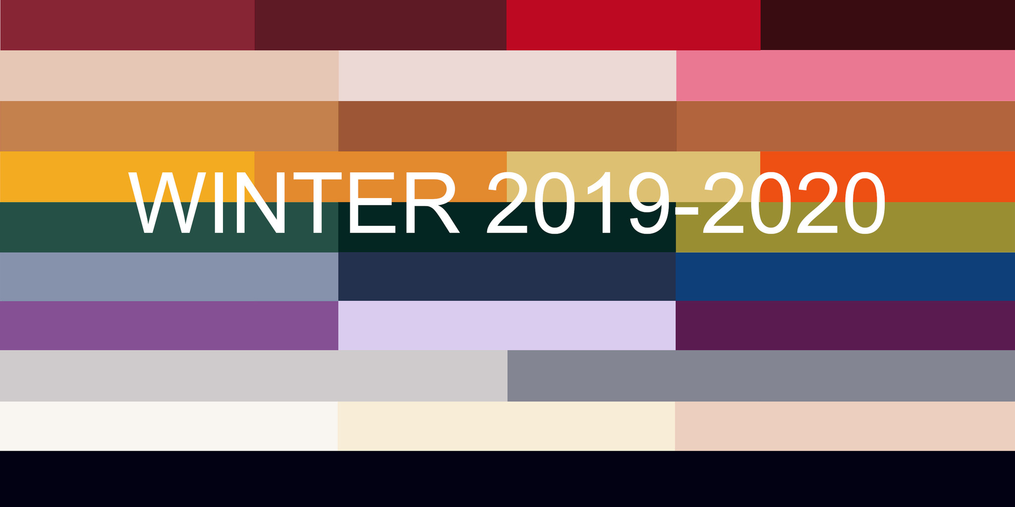 2020 To 2019 Winter.What Are The Fashion Colours For The Winter And Fall 2019