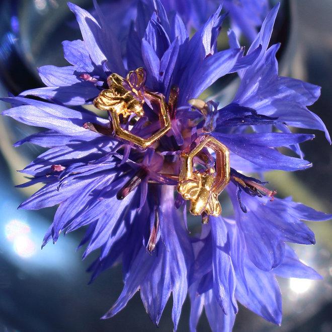 Ohrringe Biene Ohrstecker - Sterling Silber vergoldet - ARLIZI 1753 - Zoe