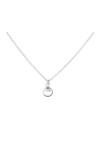 Necklace transparent Swarovski crystal pendant - sterling silver - ARLIZI 1793 - Joy
