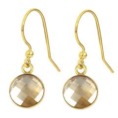 Ohrringe Swarovski Kristall - 925 Silber vergoldet - 1812