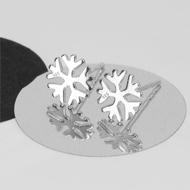 Ohrringe Schneeflocke Ohrstecker - 925 Sterling Silber - ARLIZI 1818 - Zoe