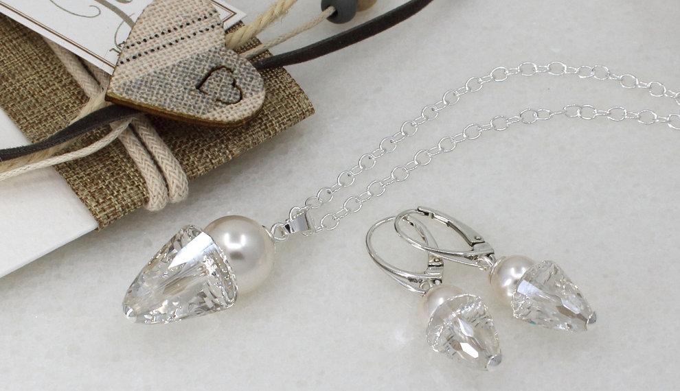 Brautschmuck mit Swarovski Kristall
