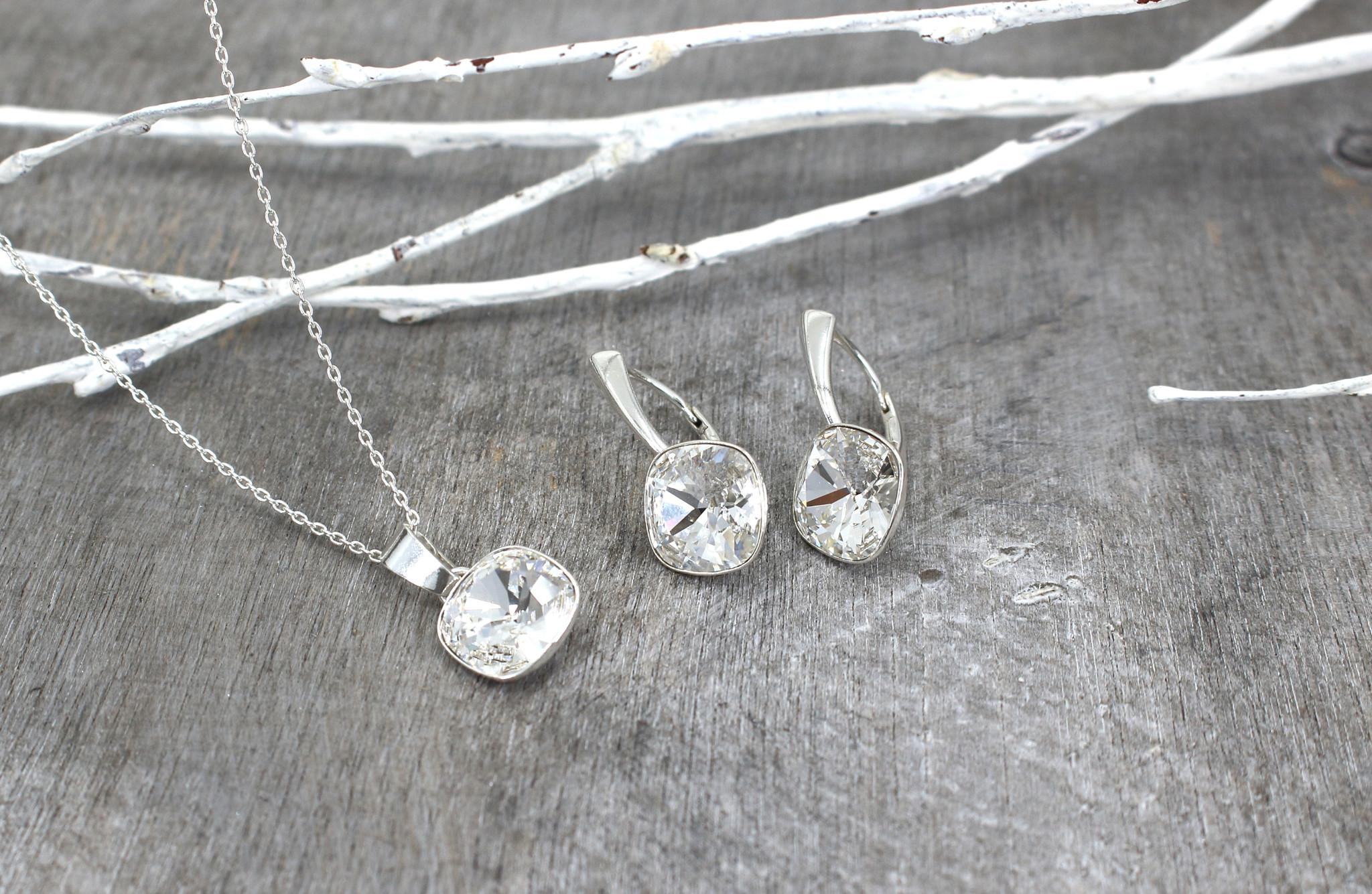 ARLIZI Jewelry 925 sterling silver drop earrings