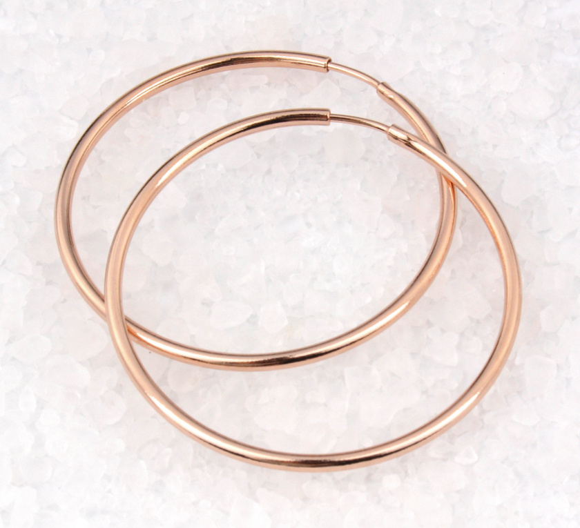 ARLIZI Jewelry sterling silver hoop earrings
