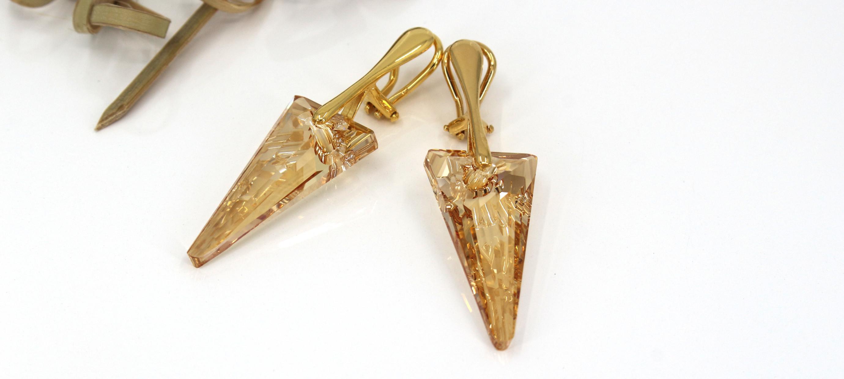 De mooiste oorclips met Swarovski kristal