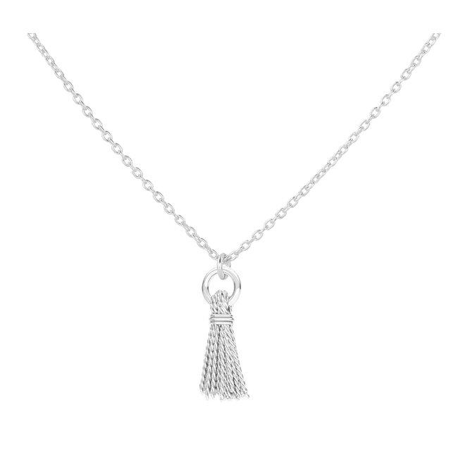 Ketting kwast hanger sterling zilver - 1863