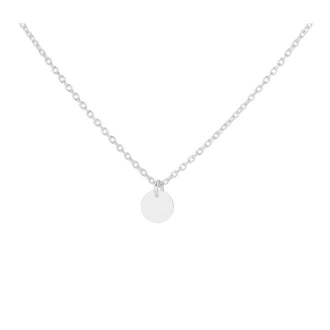 Halskette Scheibe Anhänger - Sterling Silber - ARLIZI 1882 - Kendal