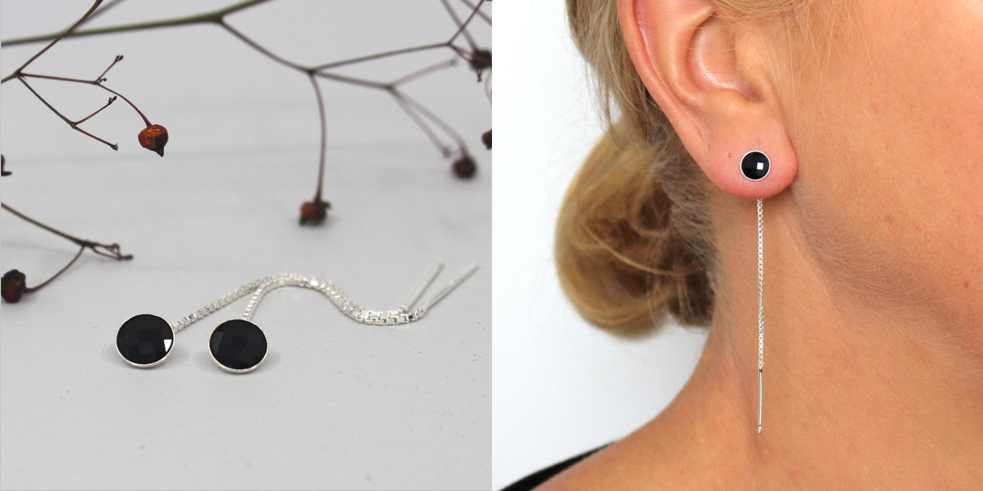 ARLIZI Jewelry threader earrings sterling silver