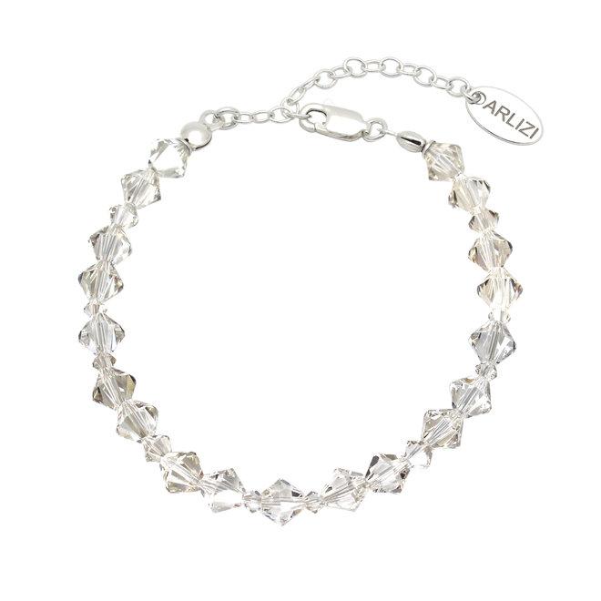 Armband transparent Swarovski Kristall - Sterling Silber - ARLIZI 1907 - Coco