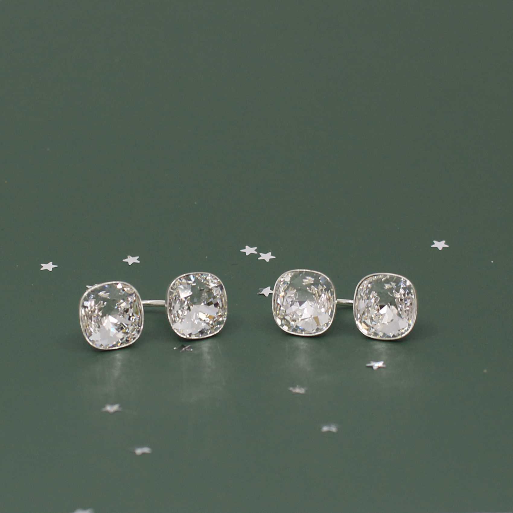 ARLIZI Schmuck Ohrringe Swarovski Kristall Sterling Silber