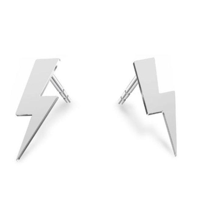 Oorbellen flash oorklimmers - sterling zilver - 1921