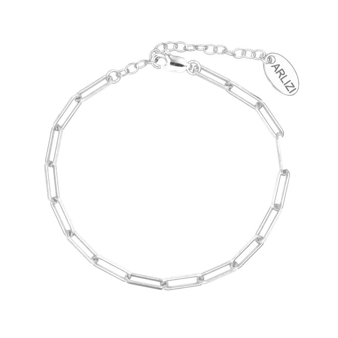 Armband grote schakel sterling zilver - 1933