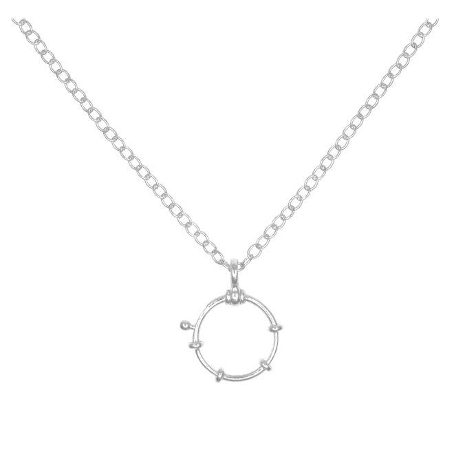 Halskette Ruder Anhänger - 925 Silber - 1942