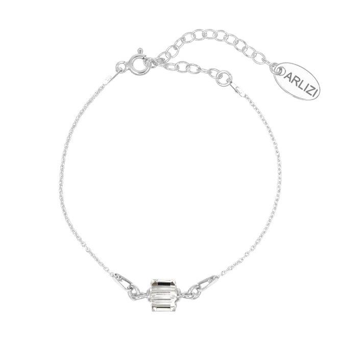 Armband Swarovski Kristall Würfel 925 Silber - 1959