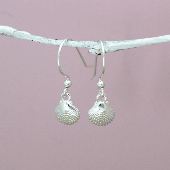 Oorbellen schelp oorhangers - sterling zilver - ARLIZI 1960 - Mare