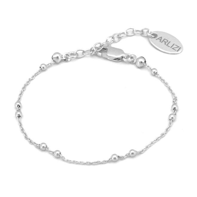 Armband schakel bal - sterling zilver - ARLIZI 1975 - Eline