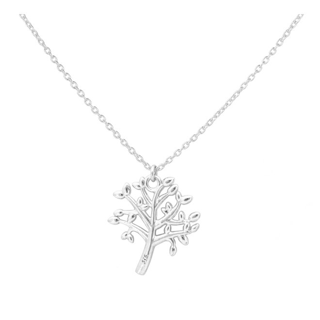 Ketting tree of life sterling zilver - 1979