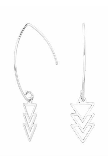 Ohrringe Dreieck Anhänger - Sterling Silber - ARLIZI 0867 - Kendal