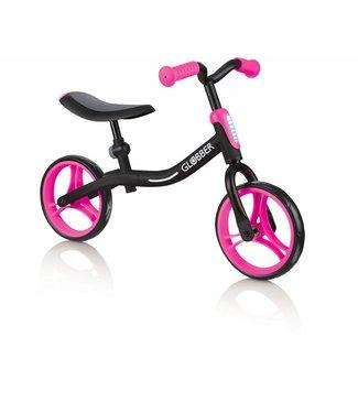 Globber go bike zwart/roze