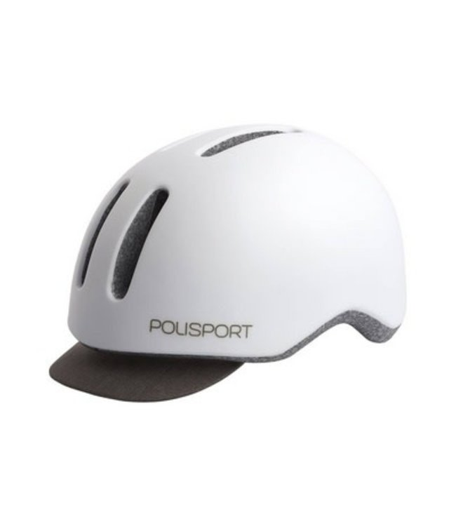 Polisport helm commuter wit