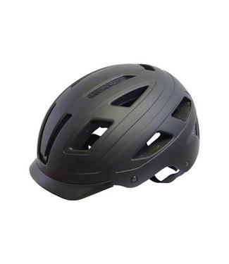 QT tech Helm Urban Style Zwart