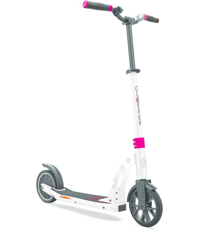 Globber One K E-Motion 15 white/red