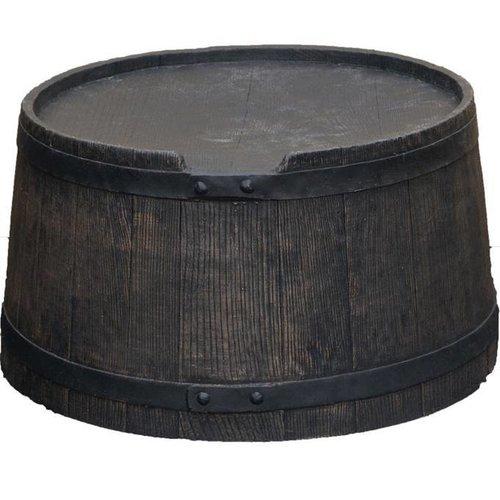 Roto voet 120 liter bruin