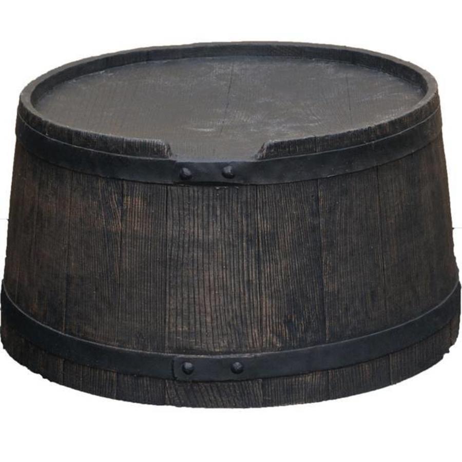 Voet voor ROTO regenton 240 liter bruin-1