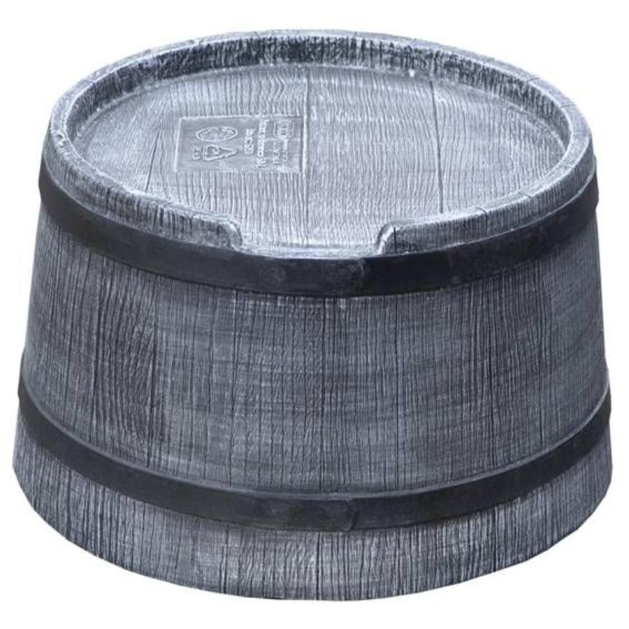 Voet 50 liter grijs-1