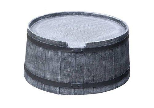 Roto voet 240 liter grijs